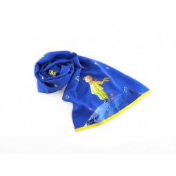 小王子絲巾 (藍色)